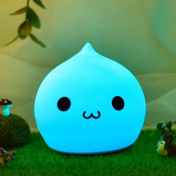 Colorful Waterdrop LED Cartoon charge Night Light - coloré