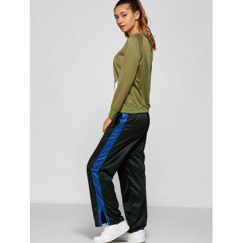 Color Block Furcal Track Pants - L L