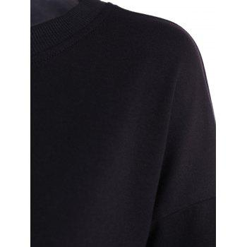 Shiny Star Sweatshirt Graphic - Noir L