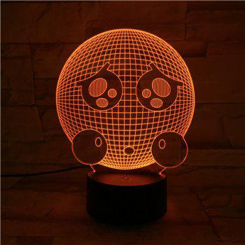3D Visual Colorful LED Room Atmosphere Decor Night Light