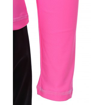 Quick Dry T-Shirt and Shorts Dive Suit - HOT PINK M