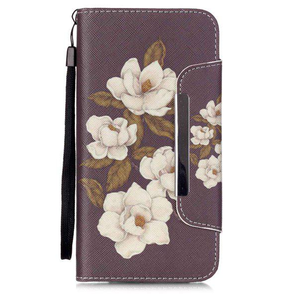 Stand PU Leather Wallet Card Design Floral Phone Case For iPhone 6S 2 in 1 army camo camouflage magnet wallet case with card holders for iphone 6 6s 4 7inch pu wallet purse