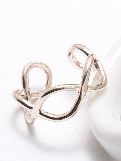 2018 filigree infinity polished cuff ring rose gold in rings online filigree infinity polished cuff ring rose gold aloadofball Choice Image