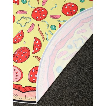 Comfy Pizza Print Round Throw Blanket - ONE SIZE(FIT SIZE XS TO M) ONE SIZE(FIT SIZE XS TO M)