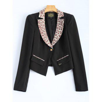 Leopard Fitting Blazer