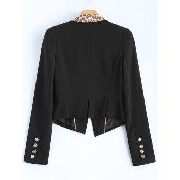 Leopard Blazer Fitting - Noir XL