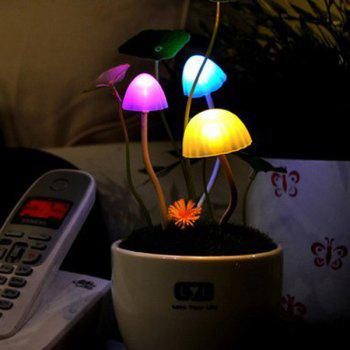 Colorful Mushroom Sensor LED Night Light Room Decoration
