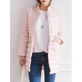 Single Breasted Quilted Jacket