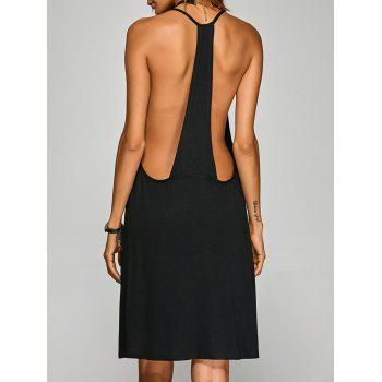 Racerback Knee Length Club Cami Dress