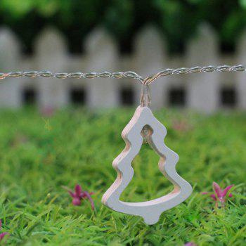 10PCS Christmas Tree Hanging LED Light Bunch Party Supplies Decoration - WARM WHITE LIGHT WARM WHITE LIGHT