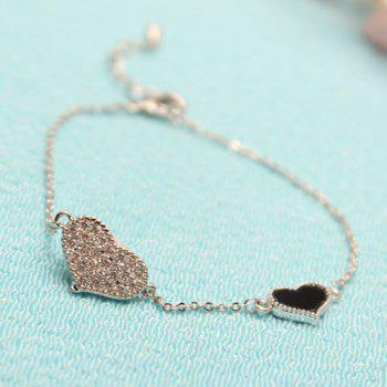 Heart Chain Alloy Bracelet