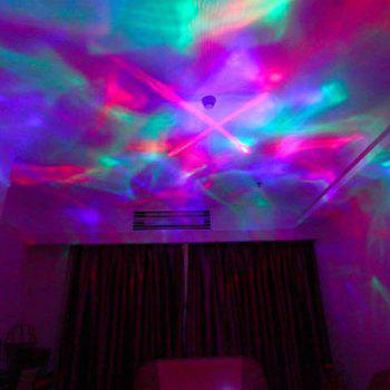 Romantic Room Atmosphere Colorful LED Video Projection Lamp - PINK
