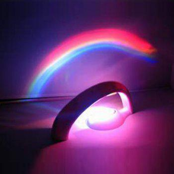 Colorful Rainbow LED Room Atmosphere Projection Lamp