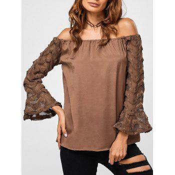 Voile See Through Blouse