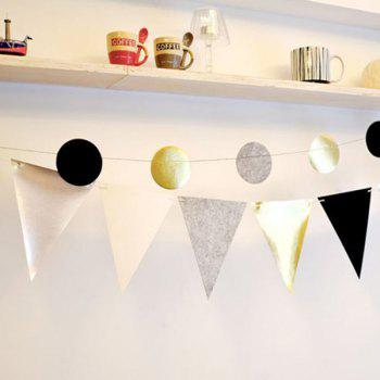 Hot Sale Pennant Flag Banner Prop Party Home Decoration - COLORMIX COLORMIX