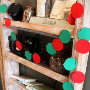 Ball Bunting Garland Christmas Supplies Party Decoration -  RED/GREEN