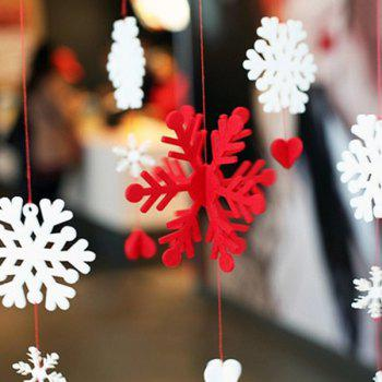 Snowflake Garland Christmas Supplies Party Decoration