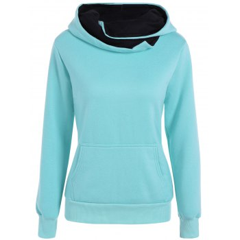 Slim  Fit Hoodie With Pocket