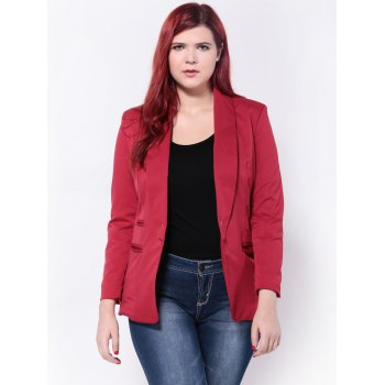 Slimming Twin Pockets Blazer