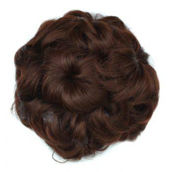 Capless Bouffant Curly High Temperature Fiber Chignons