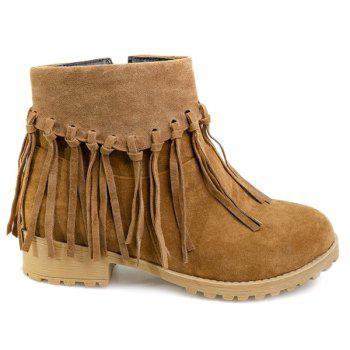 Light Weight Brown Tie Shoes For Women Size