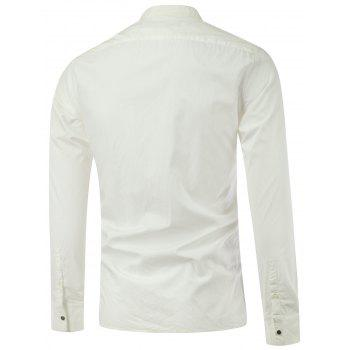 Zipper-Up Stand Collar Lightweight Jacket - 2XL 2XL