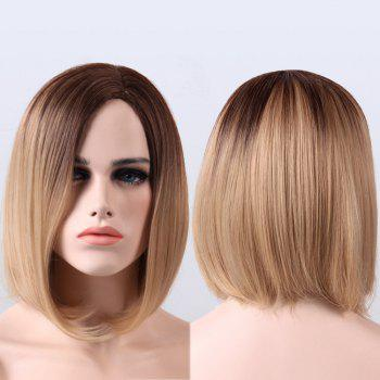 Buy Ombre Short Straight Side Parting Synthetic Wig OMBRE