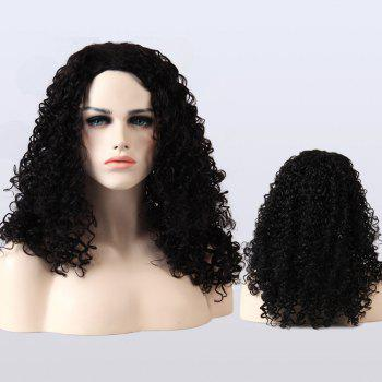 Adiors Afro Curly Medium Fluffy Synthetic Wig