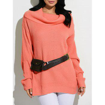 Cowl Neck Oversized Sweater