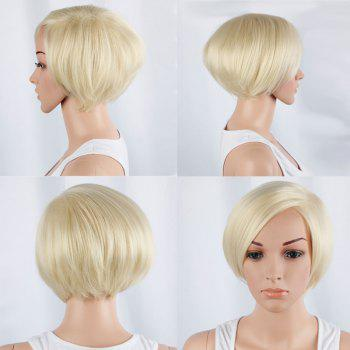 Side Bang Short Straight Synthetic Wig