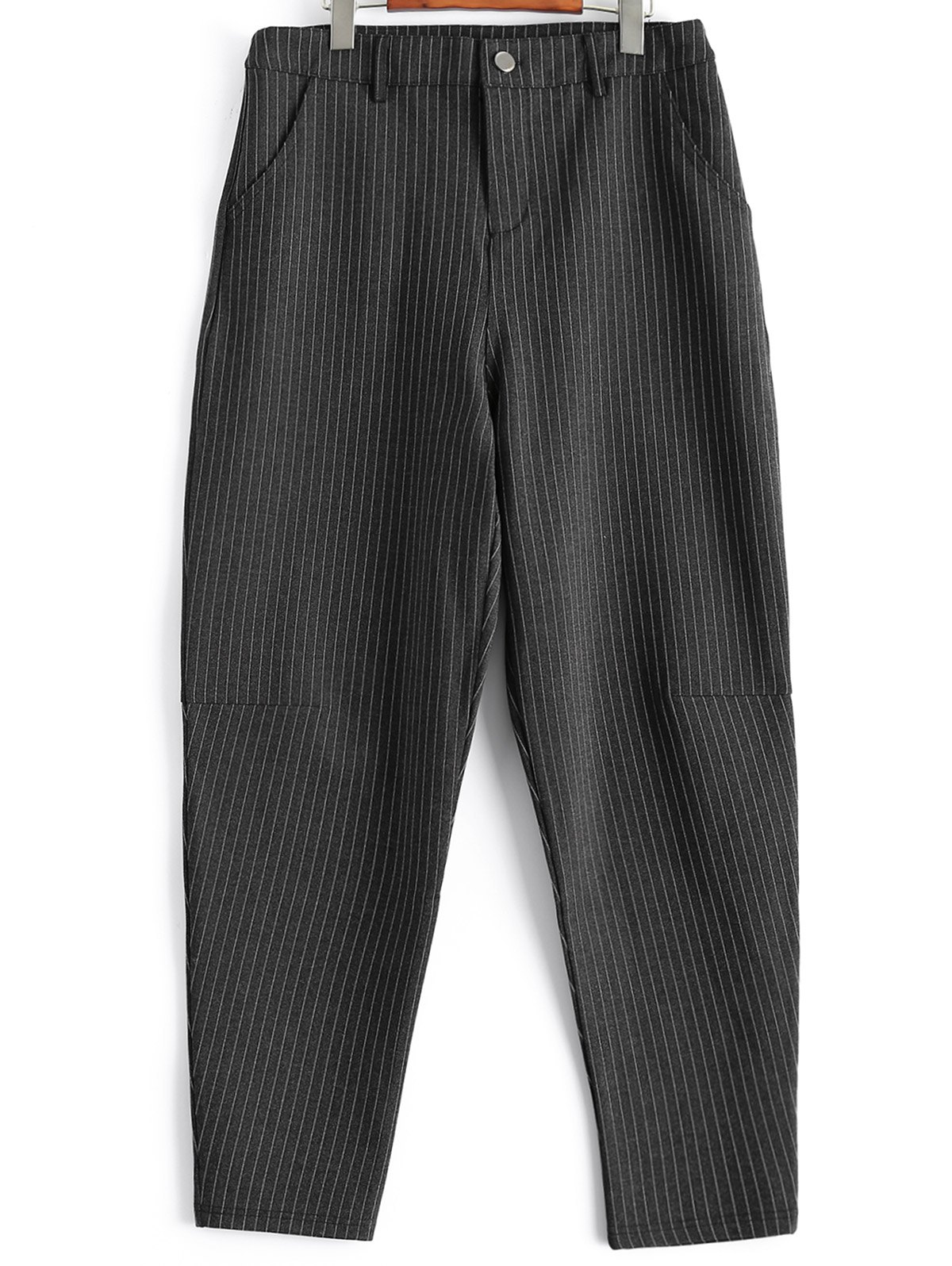 Plus Size Striped Harem Pants - STRIPE XL