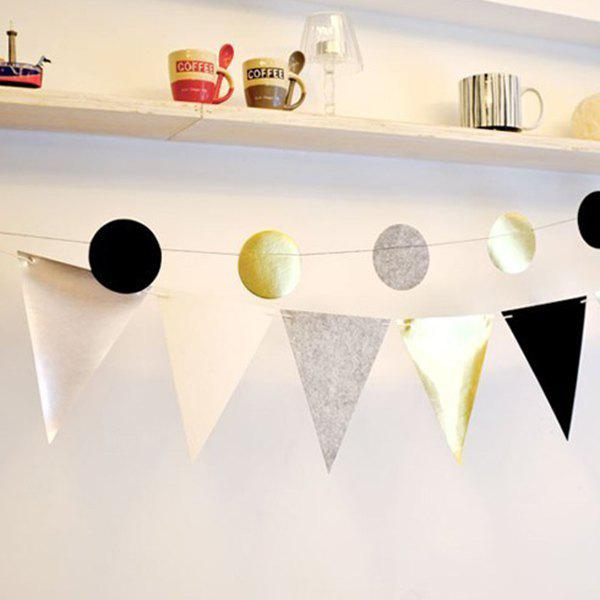 Hot Sale Pennant Flag Banner Prop Party Home Decoration - COLORMIX