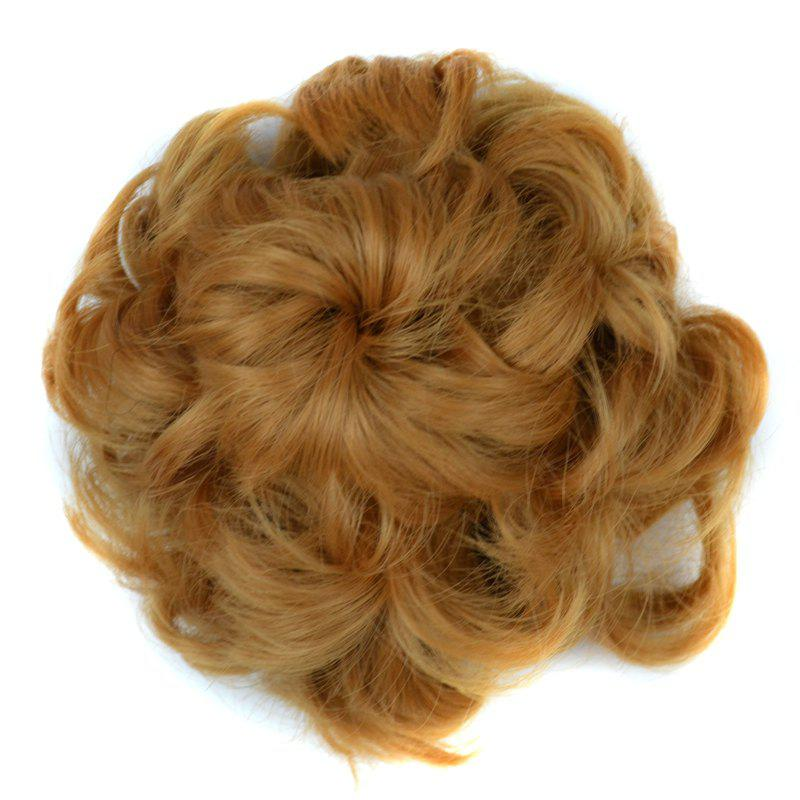 Curly Bun High Temperature Fiber Chignons
