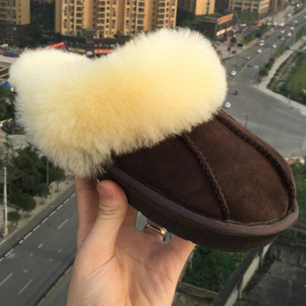 Faux Fur House Shoes