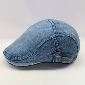 Summer Outdoor Sunscreen Lovers Casual Denim Ivy Newsboy Cap