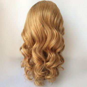 Loose Wave Long Ombre Lace Front Human Hair Wig -  COLORMIX
