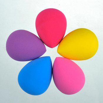 5 Pcs Teardrop Shape Water Swelling Makeup Sponge