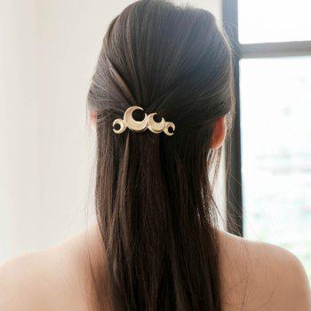 Vintage Moon Shape Hair Accessory
