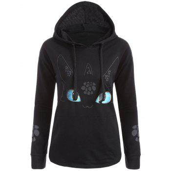 Cartoon Character Graphic Hoodie