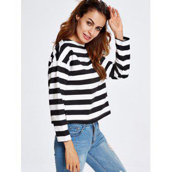 Stripe Short T-Shirt