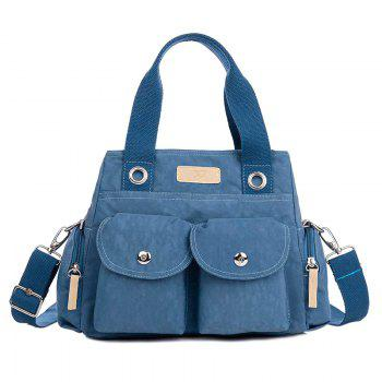 Zippers Pockets Magnetic Closure Tote Bag