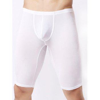 Ultrathin U Convex Pouch Breathable Cropped Pants