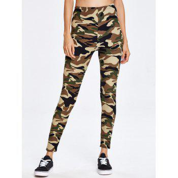 Military Camo Running Exercise Pants