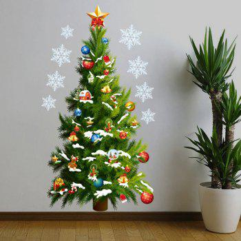Merry Christmas Tree Removable Tree Wall Decal
