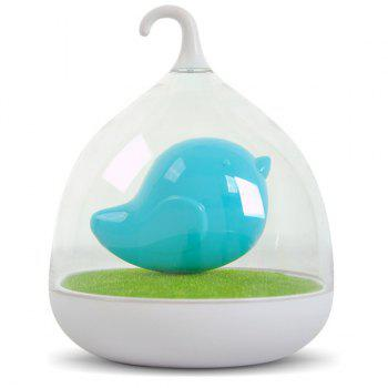 Fun Troopial Cage Induction Touch Goddess Night Light - BLUE