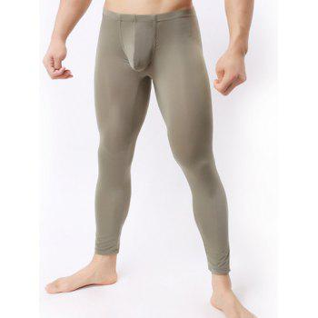 Buy Ultrathin U Convex Pouch Breathable Long Pants ARMY GREEN
