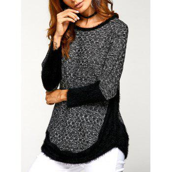 Asymmetric Pullover Sweater