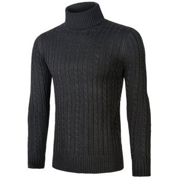 Kink Design Roll Neck Sweater