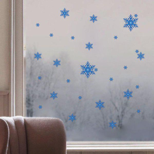 Removable Snowflake Merry Christmas Window Wall Stickers