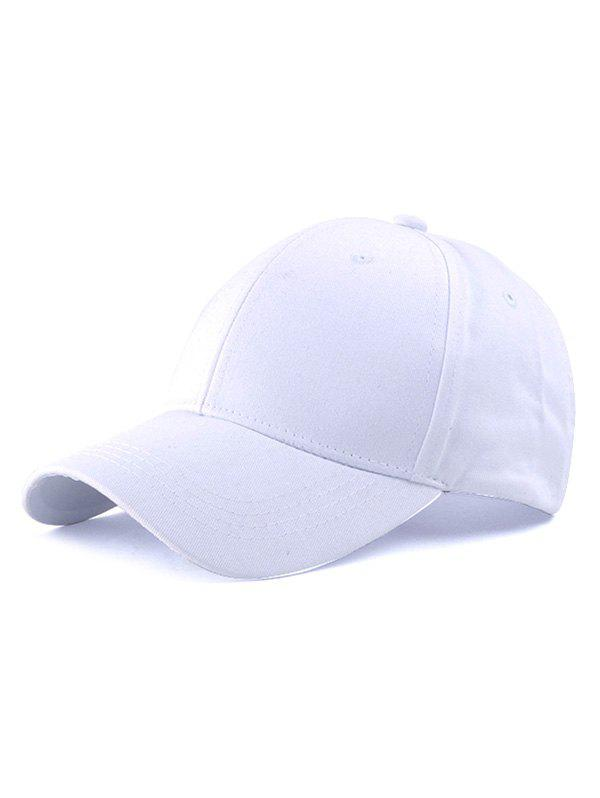 Long Strap Adjustable Baseball CapAccessories<br><br><br>Color: WHITE
